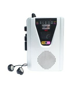 Class Portable Walkman Cassette Radio Player Recorder With Built In Speaker C2