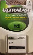 UltraLast UL-NB4L Camera Battery