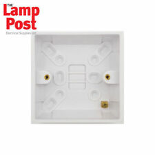 Standard White Single Standard Wall Socket Home Electrical Fittings