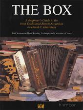 La casella Irlandese Tradizionale Pulsante FISARMONICA imparare a suonare metodo & Music Book