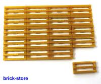 LEGO doré (E) S 1x2 Grille carrelage (dorée) / 20 pièces