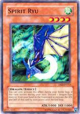 YUGIOH x 3 Spirit Ryu - DB2-EN153 - Common - Unlimited Edition Near Mint