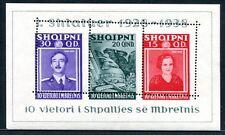 ALBANIEN 1938 BLOCK3 ** EXTREM VERZÄHNT TADELOS (E7948