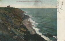 1906 Postcard - South Light House - Block Island Rhode Island