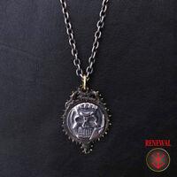 ART OF WAR Berserk Skull's Knight Coin Type Pendant Necklace New
