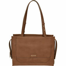 Authentic VALENTINO by Mario Valentino Gregory Structured Tote Bag, Camel