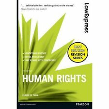 Law Express: Human Rights by Claire De Than (Paperback, 2016)