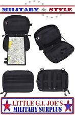 "Rothco Advanced Tactical Admin Map Pouch Black 10"" MOLLE Military Pouche 51008"