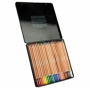 WHSmith Watercolour Colouring Assorted Quality Pencils Pre Sharpened Pack Of 24