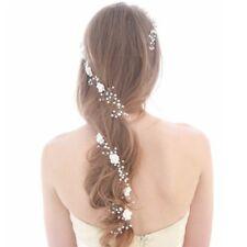Bride Wedding Headwear Hair Band Accessories Faux Pearl Flower Floral Decoration