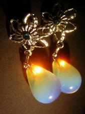 Ohrringe Opalmond Opal Opalit Unikat Handarbeit  Stecker Unikat Handarbeit