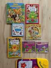 Mehrteiliges Kleinkinder Set bestehend aus Büchern CDs und Klavier Spiel Matte