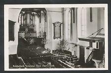Ridderkerk  Interieur Ned. Herv. Kerk