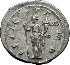 GORDIAN III 240AD Authentic Genuine Ancient Silver Roman Coin Felicitas  i59123