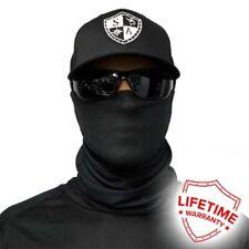 SA Face Shield Tactical Black Washable Cloth Neck Gaiter