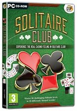 Solitaire Club (PC CD) BRAND NEW SEALED