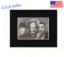 Three Stooges 8x10 matted Art Print Poster Decor picture Gift Photograph Display