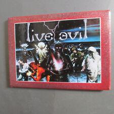 Black Sabbath Refrigerator Magnet; 'Live Evil' Lp Cover; Dio; War Pigs