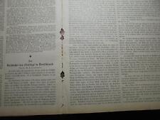 1892 giornale ebrei 31/sangue bugia/Marienfelde Berlino Ave Lallemant