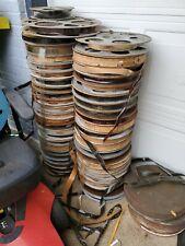 35mm Film movie Reels Sold As Is Decorative Original Antique