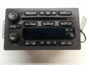 Audio Equipment Radio Am-fm-stereo-single CD Opt UB0 Fits 05-09 ENVOY 1385306
