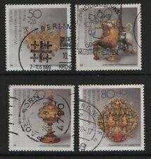 Germania/Berlino-SGB812-B815 1988 METALLI PREZIOSI lavorare in perfetta condizione Usato