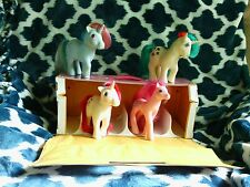 Vintage My Little Pony 1983 1984 1988 Gusty Moondancer Lot 5 Carrying Case