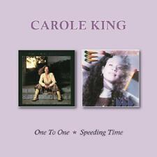 CAROLE KING - ONE TO ONE/SPEEDING TIME   CD NEUF