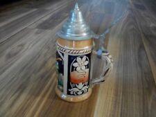 New listing Vintage Western German Lidded Beer Stein