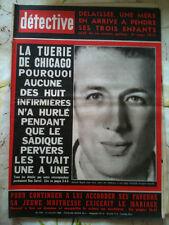 DETECTIVE 21/07/66  Tuerie de Chicago/ La confessions de Simone Langlois