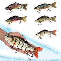 20cm / 8'' Multi Fishing Lures Jointed Bass Muskie Pike Striper Bait