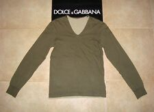 Dolce&Gabbana Black Label DOUBLE Army V-neck T-shirt Sweatshirt 44 IT (S) 375€