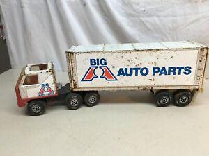 Vintage Tonka  Long Haul Rig / Big A Auto Parts Semi  Truck 1979