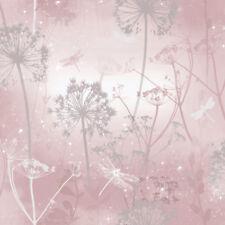 Arthouse 692305 Damselfly Blush Wallpaper Pink One Size