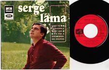 SERGE LAMA Sans toi la guerre à 20 ans 1965 Rare EP BIEM La Voix de son Maître