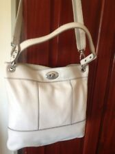 Fossil Marlow Bag In White/Cream