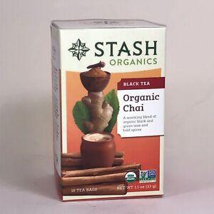 Stash Tea Organic Chai 18 ct
