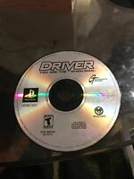 Driver You Are The Wheelman Black Label Sony Playstation 1 PS1 Disc Only