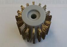 Bürste Stahl vermessingt für Flex Bürstenschleifer klein