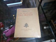 A travers la France, Isabelle Sandy, Illustrations de Claudel