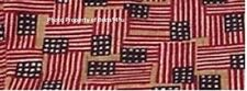 NEW Longaberger NOTEPAL Basket LINER in the OLD GLORY FLAG Fabric- RARE FIND