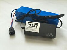 12AH 48V Li-ion Battery 3A Charger BMS Rechargeable Electronics Ebike 9 WEEKS