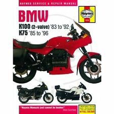 BMW K 75 100 réparation Instructions BMW K 2-ventiler K 75 100 s C rs rt LT