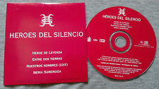 "HEROES DEL SILENCIO - ""ANTOLOGIA AUDIOVISUAL"" - SPANISH ONLY PROMOTIONAL"