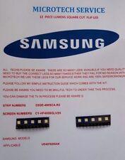 Samsung UE40F6200AK D2GE-400SCA-R3 CY-HF 400 BGLV 2 H 10 piezas Kit de reparación de LED 1 W
