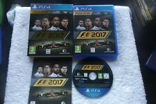 F1 FORMULA 1 2017 SPECIAL EDITION PS4 V.G.C. FAST POST ( no outer card box )