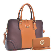 Dasein Women Handbag Faux Leather Briefcase Business Satchel Laptop Bag Purse