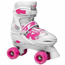Roces Quaddy Kids Roller Skates Size Adjustable Adjustable Scooter Skates