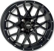 ITP Hurricane Matte Black ATV Wheel Front/Rear 14x7 4/137 - (5+2) [14RB118]