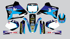 MOTUL YAMAHA YZ 125 1991-1992 DECAL STICKER GRAPHIC KIT